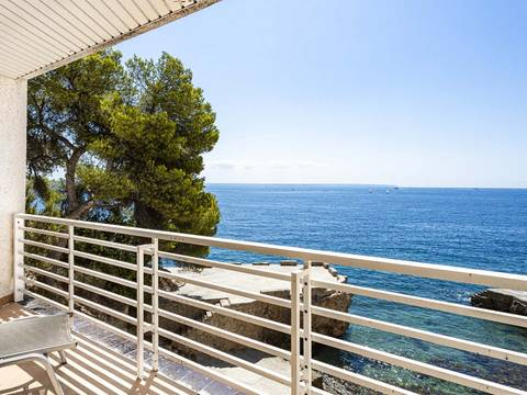 SWOILL10187 Fabulous sea view duplex apartment by the beach in Illetas