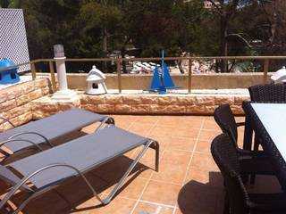 Lovely residential apartment for sale right at the beach in Illetes