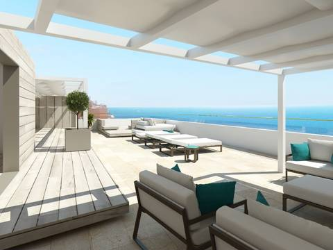 SWOILL1670 Luxury penthouse for sale in Illetas with breathtaking sea views