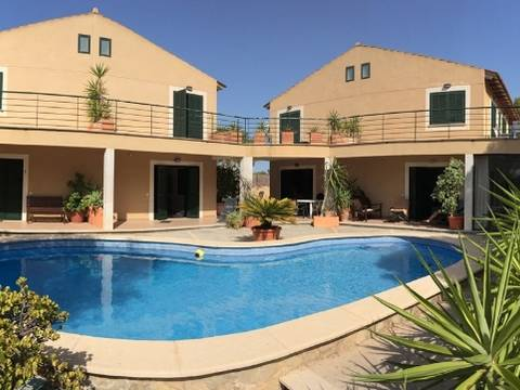 SWOLLU2080 Spacious house for sale in Cala Pi with community pool by the sea