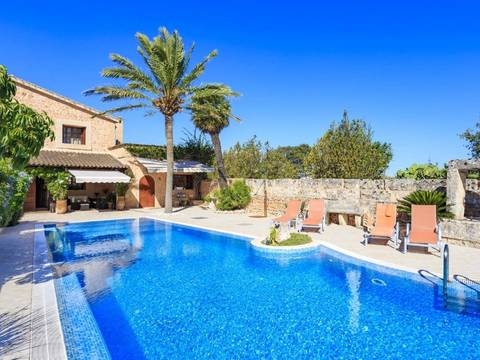 SWOLLU40010ETV Country house with pool near the historical centre of Llucmajor village