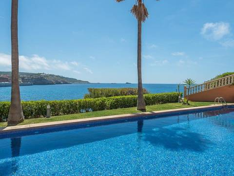 SWONSP10195 Fantastic frontline apartment with community pools and sea views in Santa Ponsa