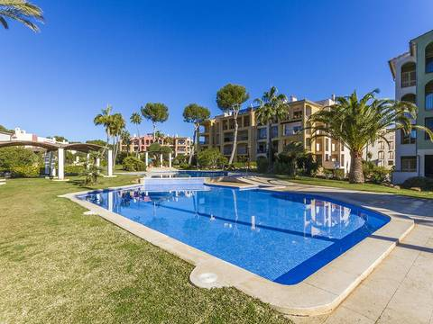 SWONSP1083 Luxury apartment in an exclusive community overlooking the golf course in Santa Ponça
