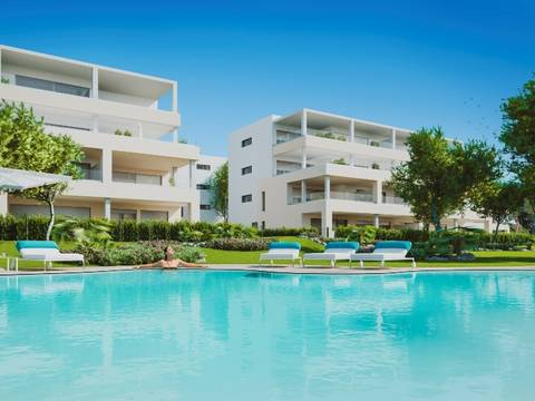 SWONSP1664 Apartments in a new development for sale close to the super marina of Port Adriano