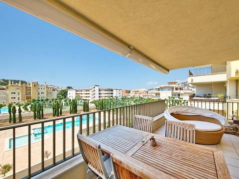 SWONSP1719 Nice and bright apartment for sale in Santa Ponsa close to the centre and the beach