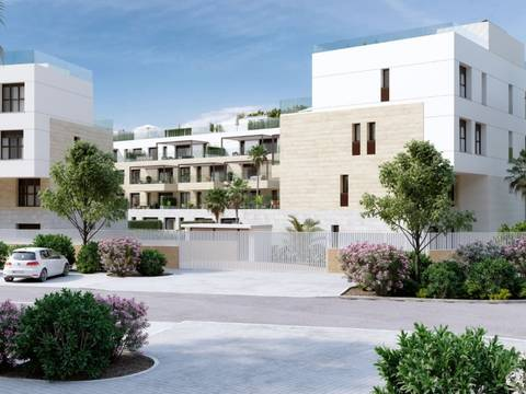 SWONSP1983 Apartment with garden of new construction in Santa Ponsa