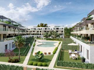 Apartment with garden of new construction in Santa Ponsa