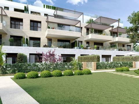 SWONSP1984 Brand new apartment with private top terrace in Santa Ponsa