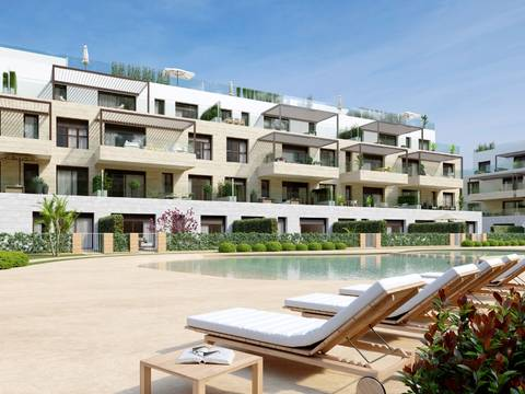 SWONSP1988 Apartment with private terrace of new construction in Santa Ponsa