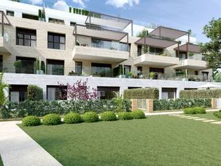 Apartment with private top terrace new construction in Santa Ponsa