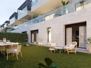 Apartment with private garden of new construction in Santa Ponsa