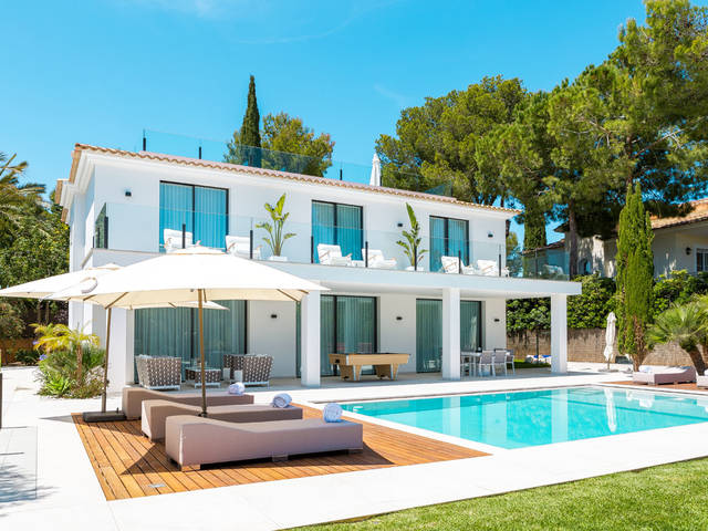 High-end villa with stylish finishing in Santa Ponsa
