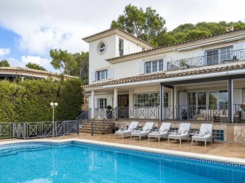 SWONSP40170 Fantastic villa with pool and a basement with games room in Santa Ponsa