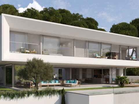 SWONSP40193 Luxurious frontline villa with stunning panoramic sea views in Santa Ponsa