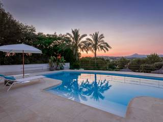 Luxury villa with beautiful mountain views close to the Country Club of Santa Ponça