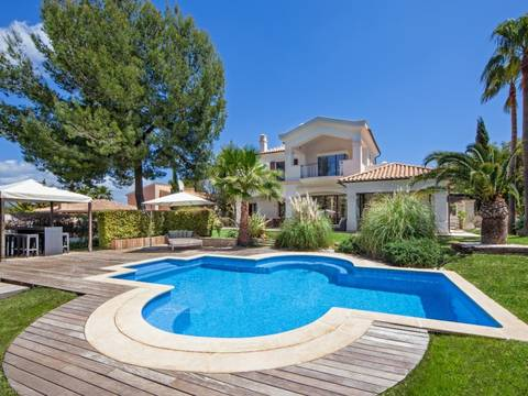 SWONSP4279 Villa for sale in Nova Santa Ponsa with nice views