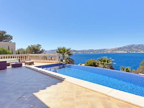 SWONSP4280 Villa for sale in Nova Santa Ponsa with fantastic sea views