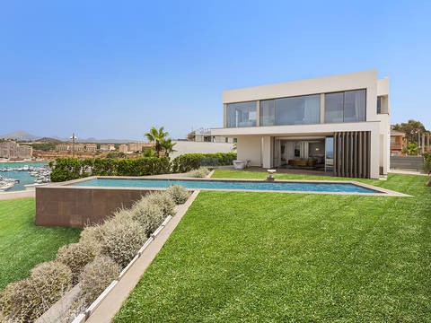 SWONSP4513 Fantastic villa with spectacular sea view in Port Adriano