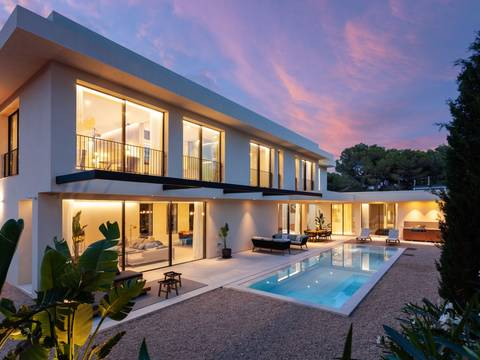 SWONSP4541BPO Fantastic villa project for sale in Santa Ponsa