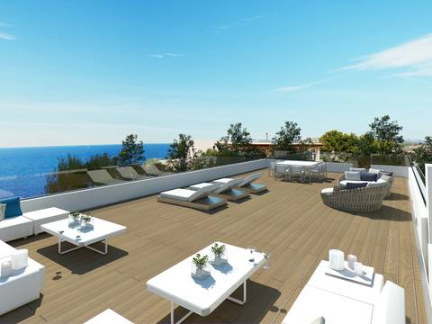 SWONSP4633 New villa project for sale in Nova Santa Ponsa in first sea line