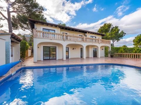 SWONSP4644 Large villa for sale in Santa Ponsa with fanastic views