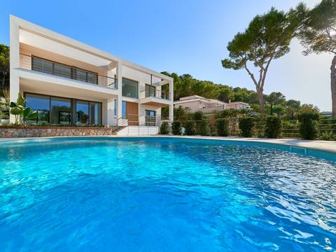 SWONSP4717 Spacious dream villa with an exclusive design in Santa Ponsa
