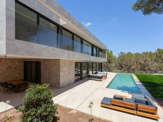 One-of-a-kind villa in modern style in Santa Ponsa