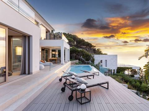 SWONSP4746BPO Villa with a specatcular view over the bay of Santa Ponsa