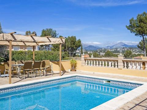 SWONSP4949 Mountain view villa with Mediterranean garden in Santa Ponsa