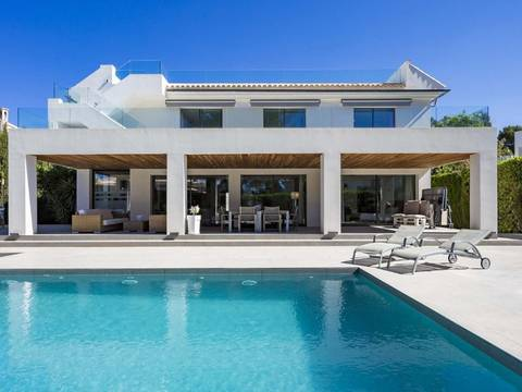 SWONSP4960 Modern seaview villa in top location near Puerto Adriano in Santa Ponsa