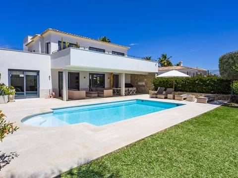 SWONSP4981 Modern villa with heated pool in a peaceful area of Santa Ponsa