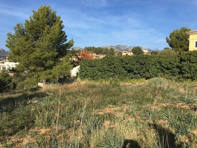 Perfectly located plot for sale in Bunyola with stunning open views till Palma