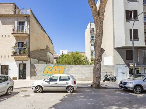 SWOPAL0198 Urban plot with project and building permit in Palma