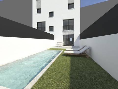 SWOPAL10012 Duplex-apartment with private pool not far from city centre for sale in Palma, Mallorca
