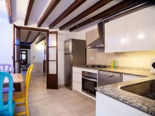Renovated apartment with three bedrooms and private patio in the heart of Palma