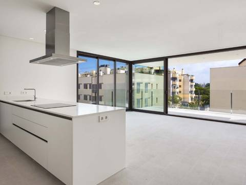 SWOPAL10086 Duplex penthouse with roof top terrace and private pool in Palma