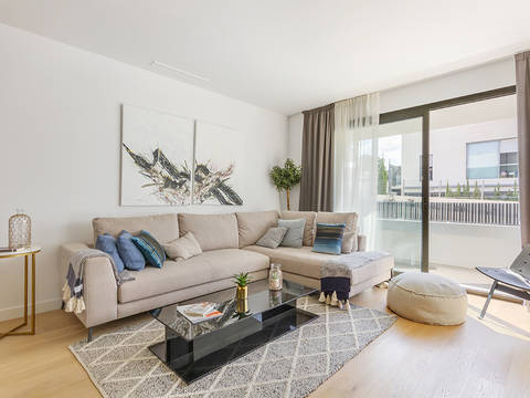 SWOPAL10089 Spectacular ground floor apartments in a development near the golf course Son Quint in Palma