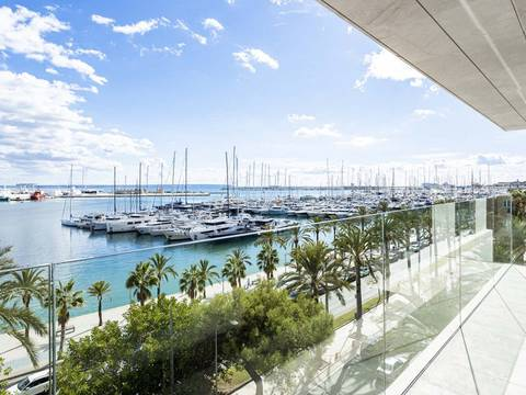 SWOPAL10099BPO Luxury seafront apartment overlooking Palma´s famous Paseo Marítimo