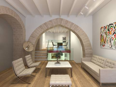 SWOPAL10180 Chic ground floor apartment finished to the highest standard in Palma