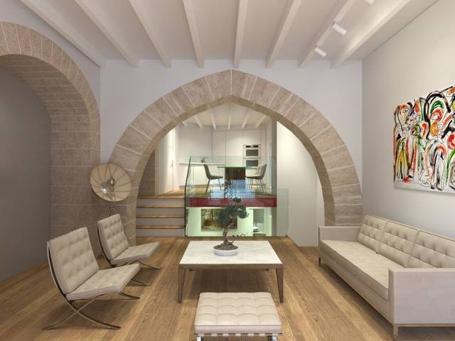 Chic ground floor apartment finished to the highest standard in Palma