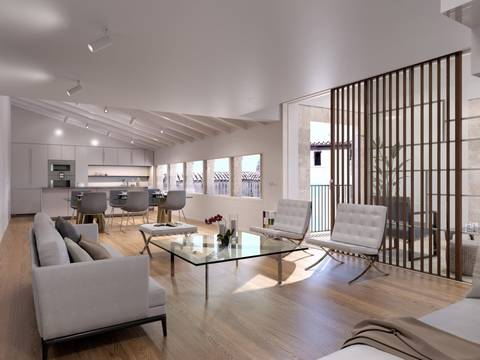 SWOPAL10181 Exclusive first floor apartment with luxury finishes throughout in Palma