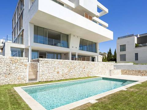 SWOPAL10194 Brand new 3 bedroom apartment with community pool in Bonanova, Palma