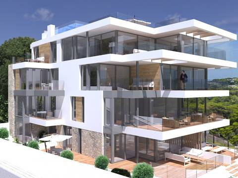 SWOPAL10234 Luxurious apartment with large private terrace in Sant Agusti