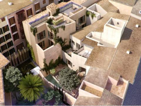 SWOPAL10244 Modern apartment with private terrace in Old Town Palma