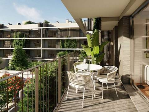SWOPAL10247A Newly built apartment with private terrace in Palma