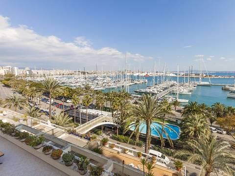 SWOPAL1025 LARGE LUXURY APARTMENT IN AN ELEGANT BUILDING FOR SALE IN PALMA