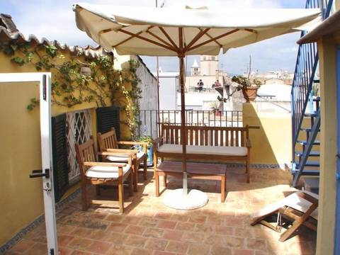 SWOPAL1345 Penthouse for sale in Palma Old Town - with private terrace