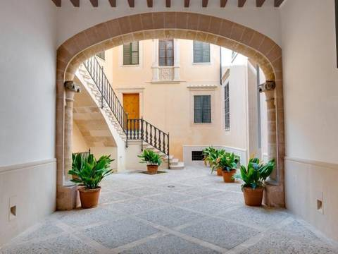 SWOPAL1564 Apartment for sale in Palma Old Town - under renovation with luxury finishes