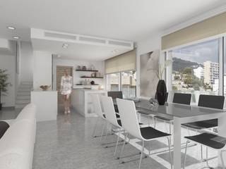 Fantastic apartment for sale in San Agustin overlooking the beautiful harbor of Cala Nova