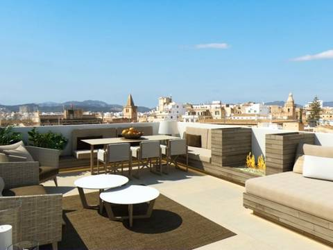 SWOPAL1686RM Fantastic project for sale in the old town of Palma with roof terrace